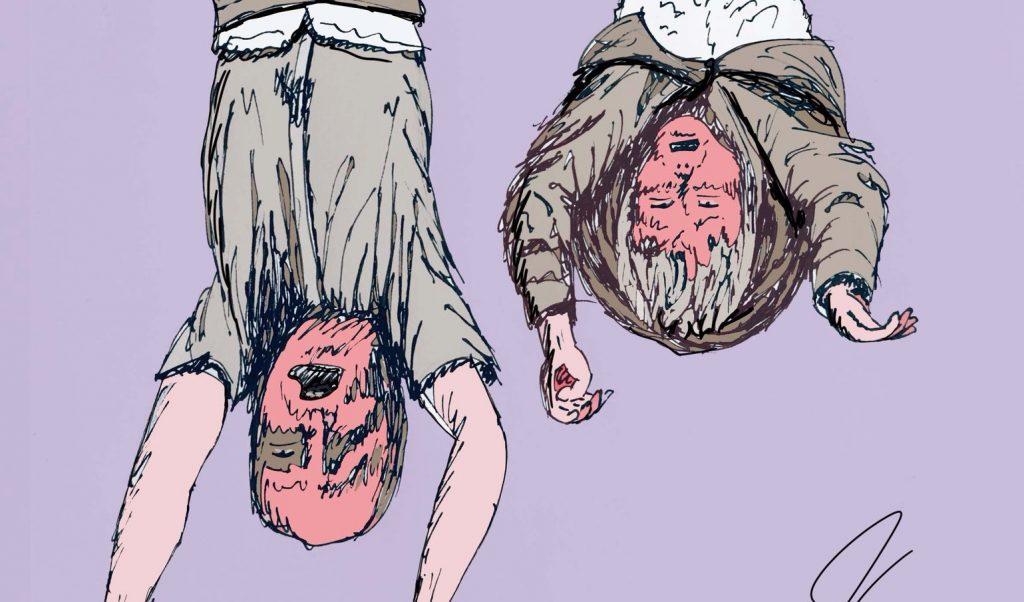 Si riaccende lo scontro Carrey-Mussolini: lei risponde con una maschera