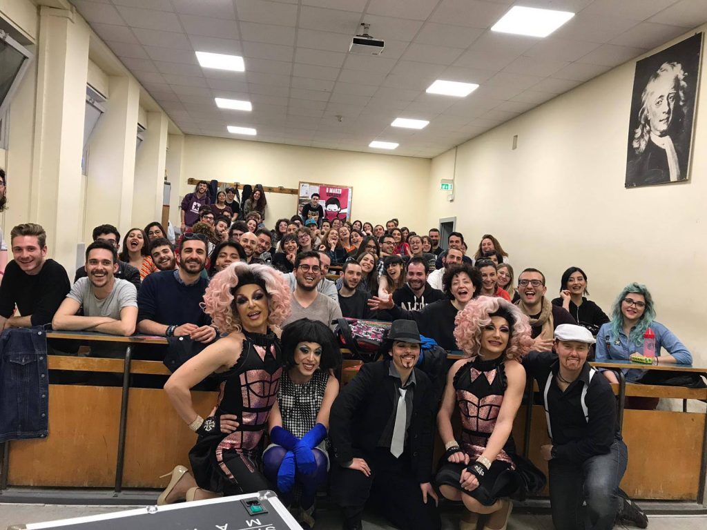 L'Università La Sapienza ospita il laboratorio di drag queen (e king)