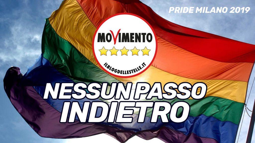L'amnesia e l'incoerenza del M5S che sfilerà al Milano Pride