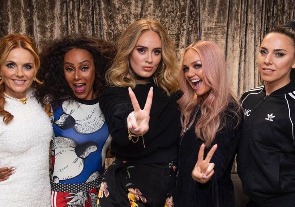 Girl Power: la scorsa notte Adele ha incontrato le Spice Girls
