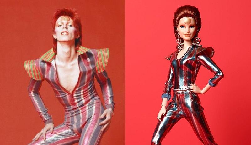 L'icona gender fluid David Bowie diventa una Barbie