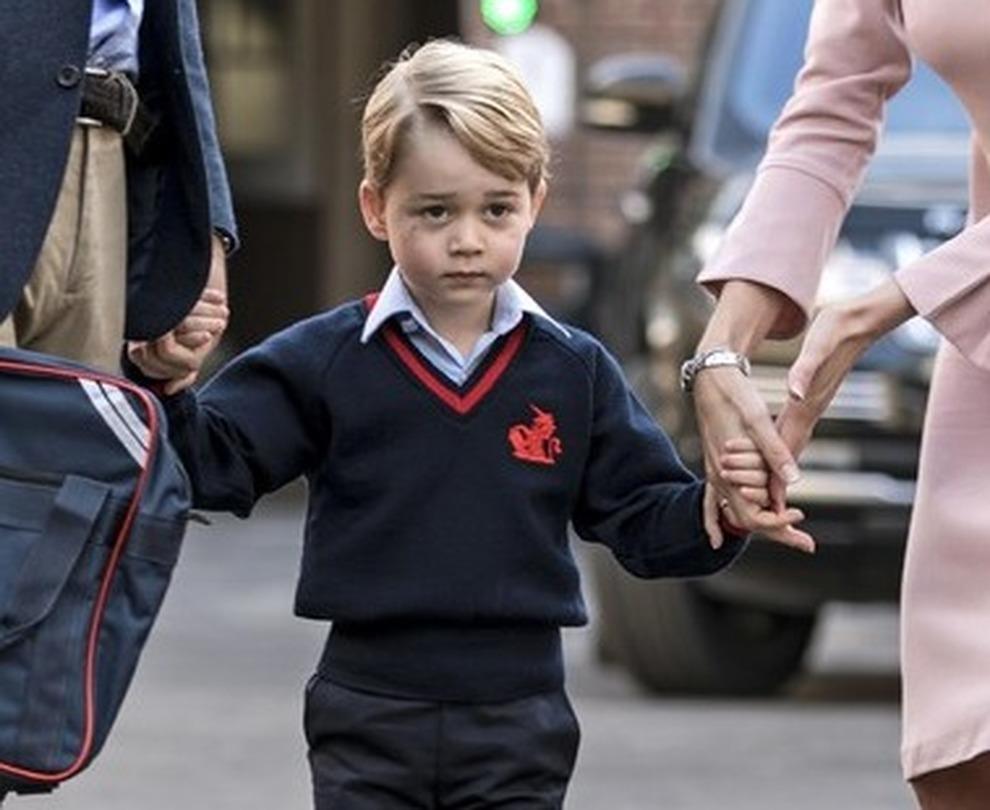 Baby George studierà danza e la conduttrice Lara Spencer se la ride