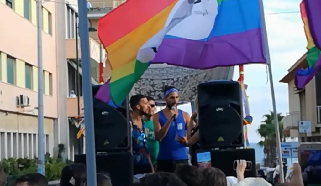 Salento Pride, l'intervento dei ragazzi vittime di omotransfobia a Gallipoli