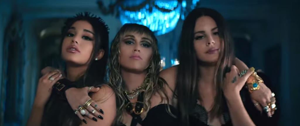 Ariana Grande, Miley Cyrus e Lana Del Rey insieme per la colonna sonora di Charlie's Angels