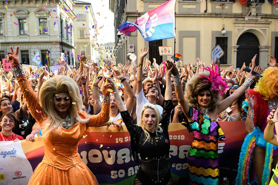 Novara e Sorrento hanno chiuso una straordinaria Onda Pride