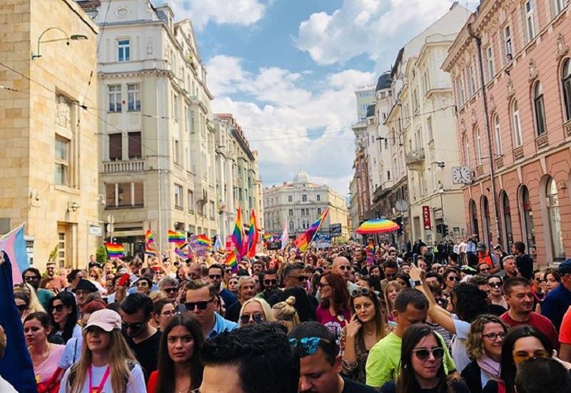 Sarajevo, il primo Pride bosniaco è stato un successo