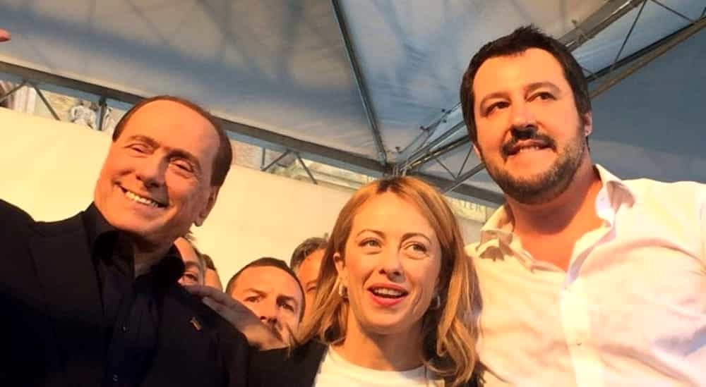 Elezioni in Umbria: Salvini, Meloni e Berlusconi firmano il manifesto del Family Day