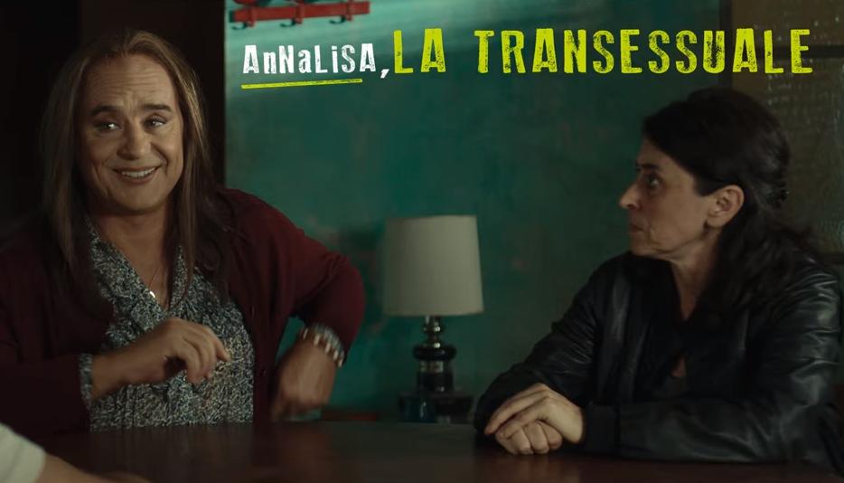 """Luca Zingaretti diventa una donna trans pansessuale per il film """"Thanks!"""" – Trailer"""