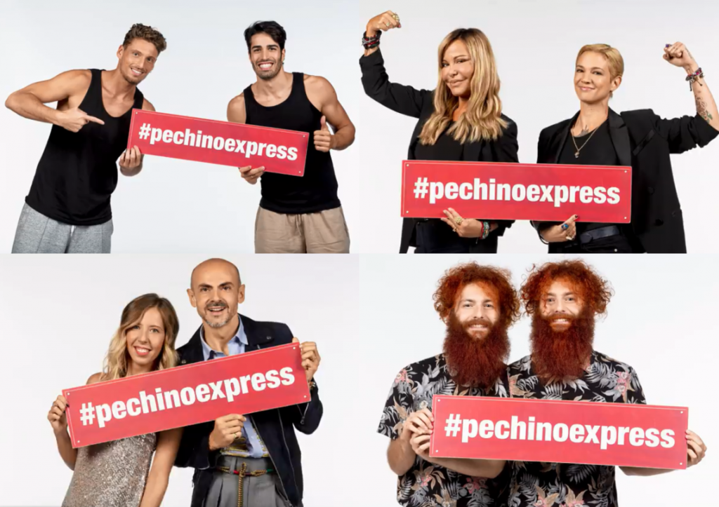 Pechino Express: svelato il cast dell'edizione 2020