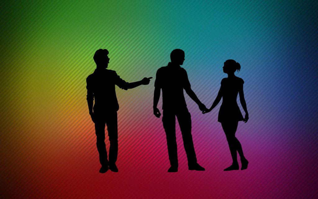Va in viaggio di nozze con la moglie, ma si porta dietro l'amante gay