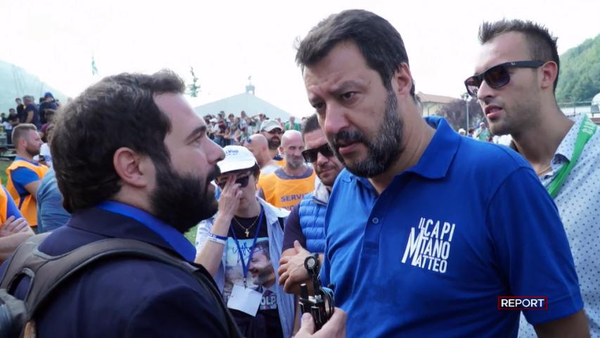 Report ci dice cosa c'è dietro l'omofobia e i simboli cattolici ostentati dalla Lega
