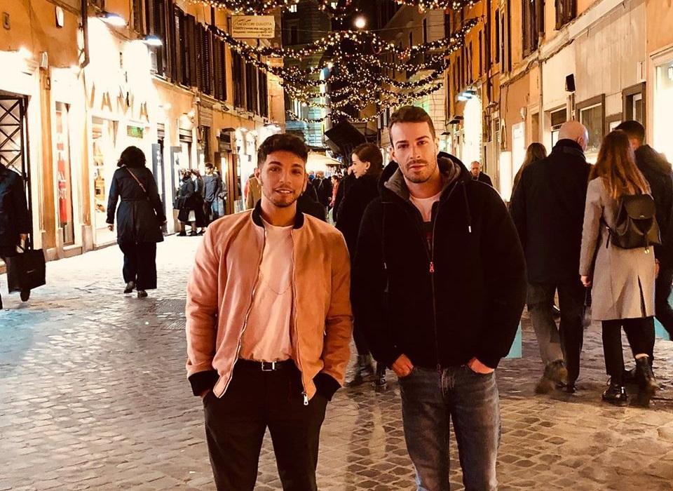 Marco Carta presenta il fidanzato Sirio su Instagram