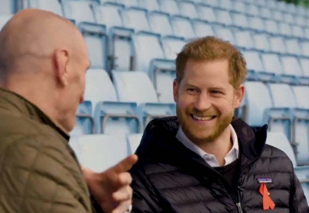 Il Principe Harry e il rugbista Gareth Thomas insieme contro lo stigma dell'HIV