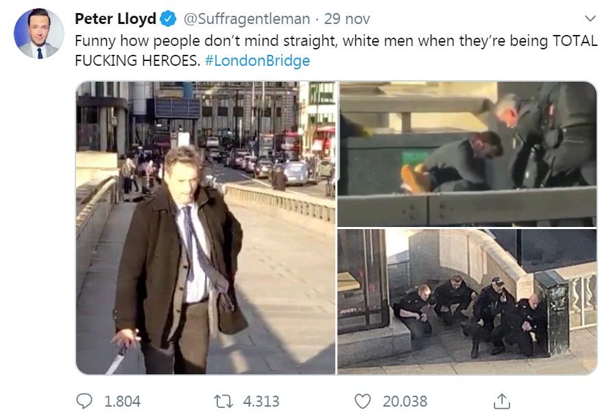 C'è chi ha strumentalizzato l'attacco terroristico di Londra contro i gay