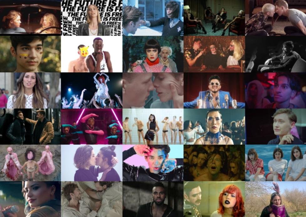 Canzoni LGBT+ del decennio: la Top100 dalla posizione 51 alla 100
