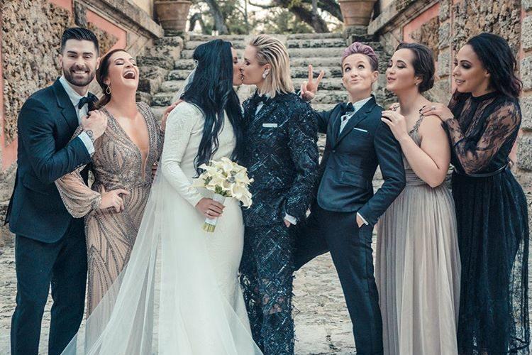 Ali Krieger e Ashlyn Harris: le due calciatrici campionesse del mondo si sono sposate