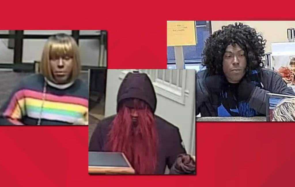Stati Uniti, caccia al ladro che ha rapinato tre banche vestito da drag queen