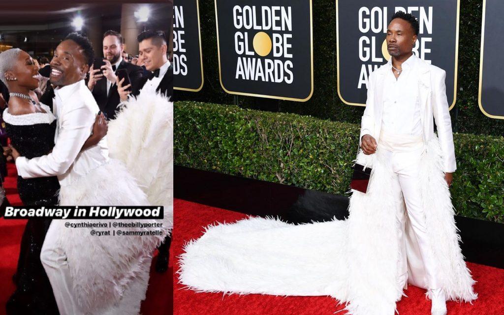 Golden Globe, Billy Porter è un cigno bianco sul red carpet