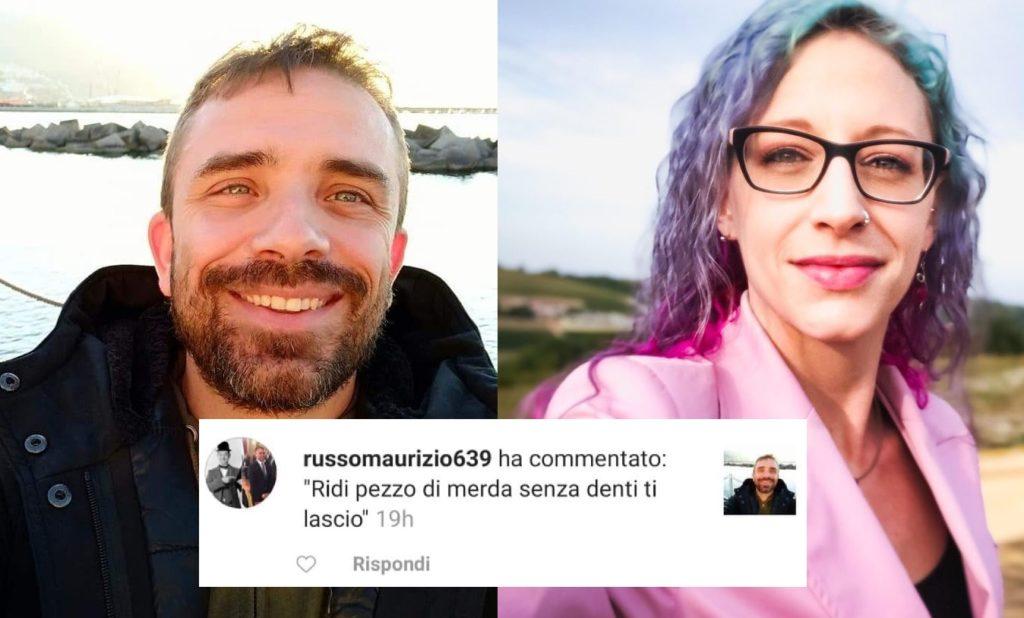 L'attivista Antonello Sannino minacciato per aver espresso solidarietà a Giulia Bodo