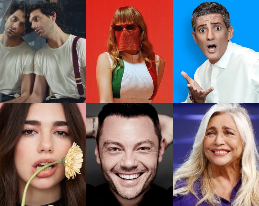 Sanremo 2020, Dua Lipa e Mika ospiti, Myss Keta nel post Festival