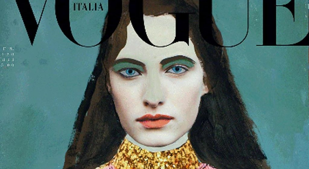 La rivoluzione ambientalista di Vogue Italia: una rivista senza foto