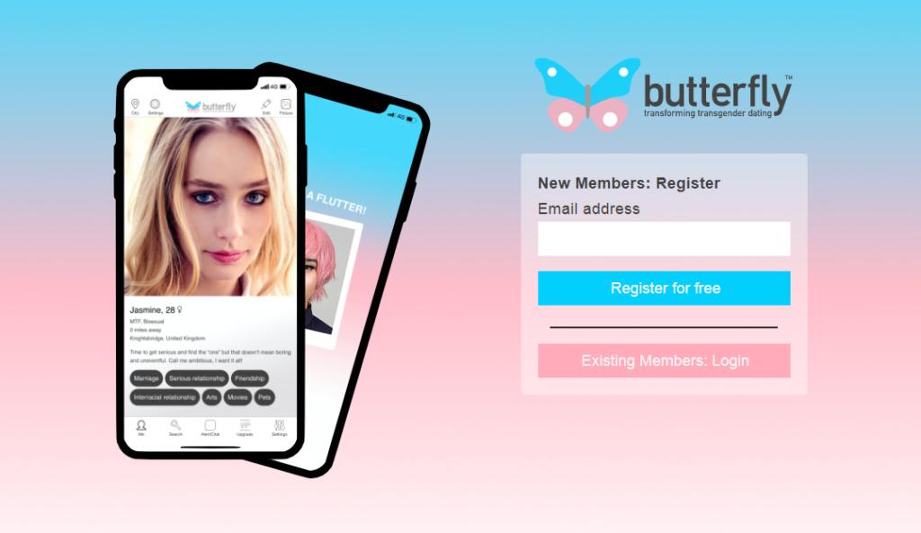Butterfly, l'app di incontri che auto-distrugge i messaggi transfobici