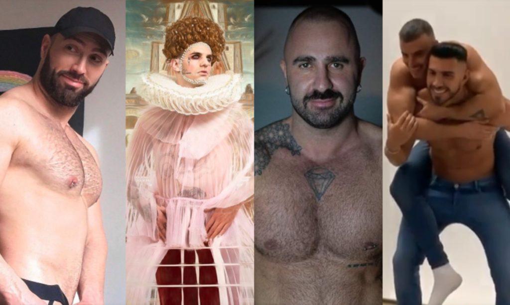 Queeride: Achille Lauro regina, Alex Marte col pacco, Claudio Sona senza slip