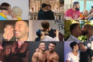 Queeride bacia tutti: Simone Nolasco, Alex Migliorini, Achille Lauro e tutti gli altri