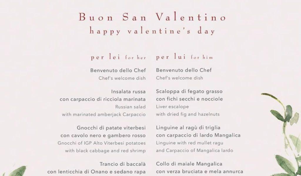 Roma, menù di San Valentino ha piatti diversi per lei e lui: e le coppie LGBT?