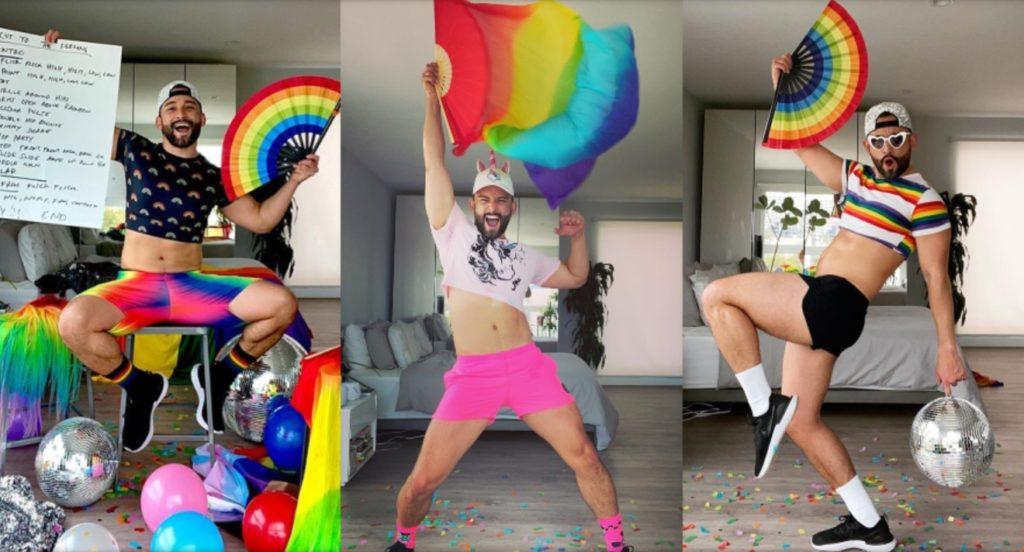 Gli irresistibili quarantine dance party del ballerino queer Mark Kanemura