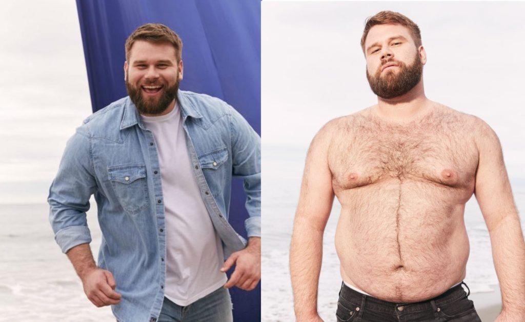 Il modello gay plus-size Michael McCauley nella nuova campagna di Abercrombie & Fitch
