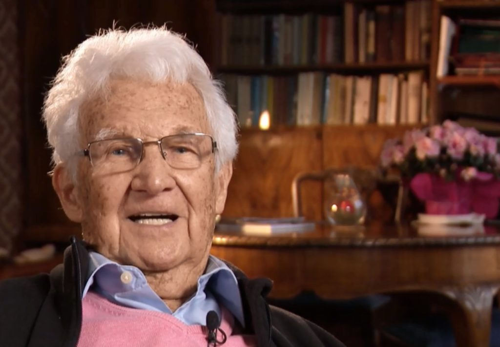 L'attore polacco Witold Sadowy fa coming out a 100 anni