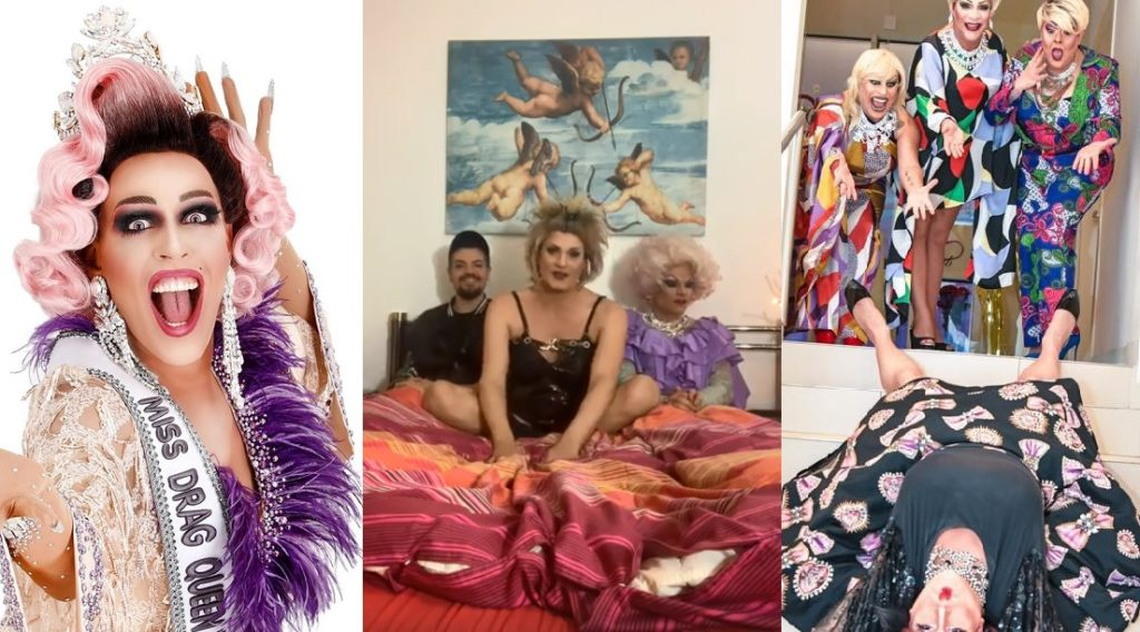 Coronavirus, le drag queen italiane si danno al telelavoro: «Portiamo nelle case spensieratezza e favolosità»