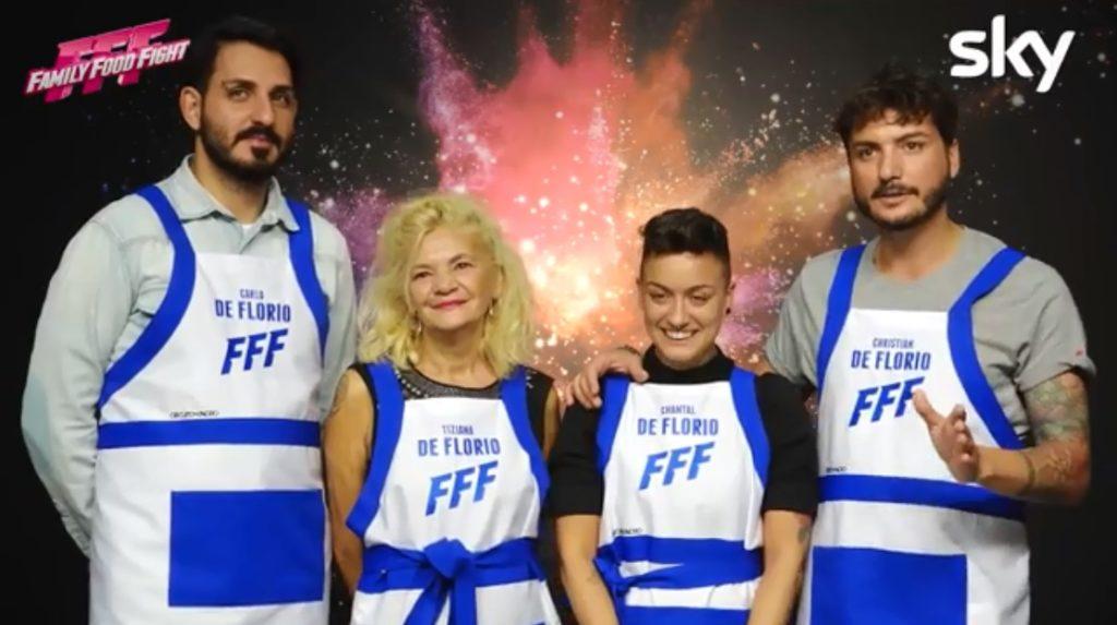 Family Food Fight, una straordinaria famiglia arcobaleno nel nuovo programma Sky