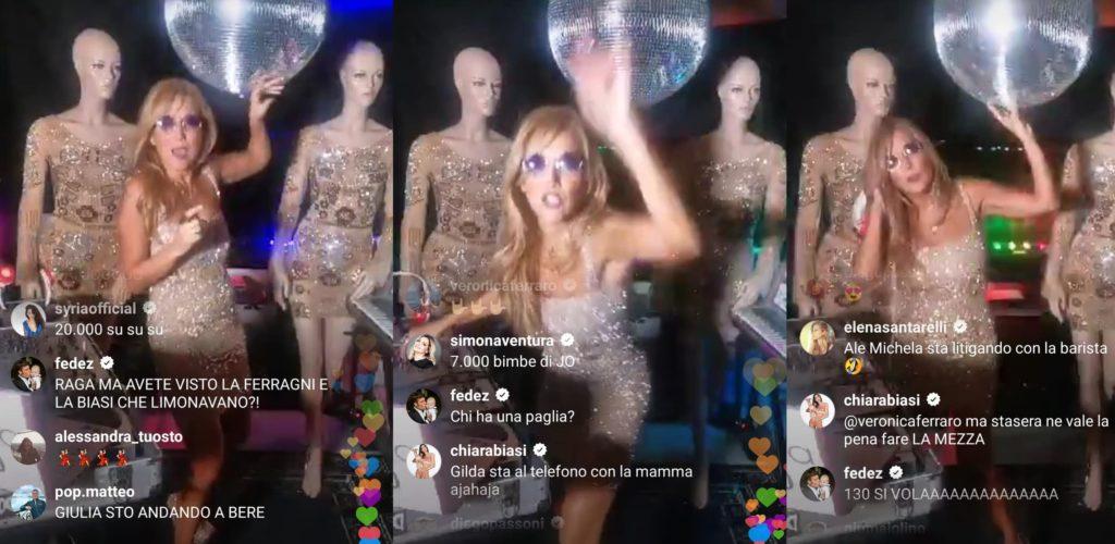 """Dai Ferragnez a Myss Keta, tutti i VIP """"ballano"""" sul dj set Instagram di Jo Squillo"""