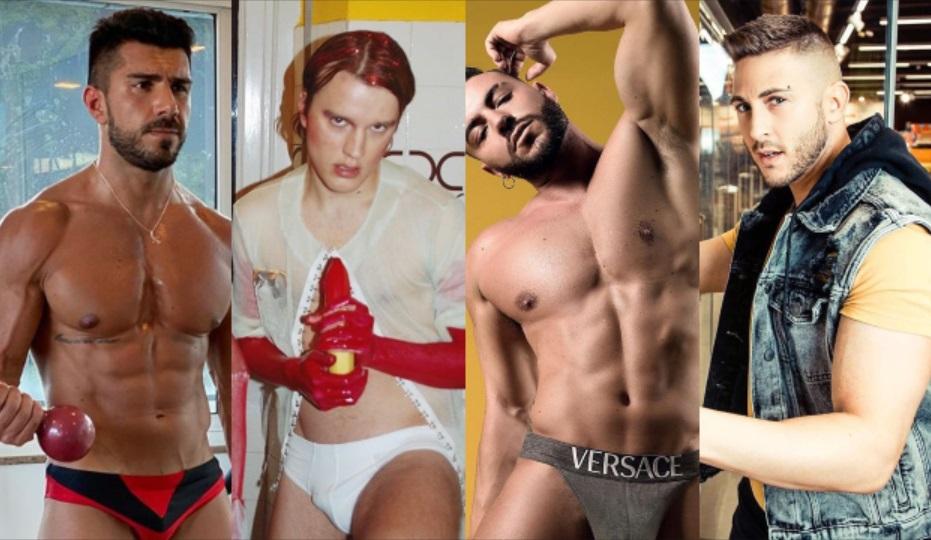 Queeride&Quarantene: Nicola Simionato, Ivano Marino, Sem&Stènn, Danilo Bertazzi