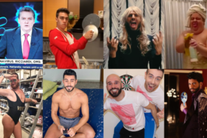 Queeride, pazze sulle terrazze: le quarantene dei VIP più queer d'Italia