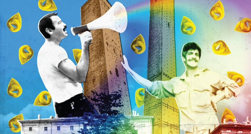 Torri, checche e tortellini: la nascita del movimento LGBT italiano in streaming gratuito
