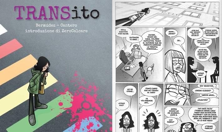 TRANSito, il fumetto sulla storia di un ragazzo trans con l'introduzione di Zerocalcare
