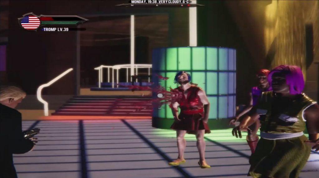 Boris Johnson e il terrorista di Christchurch ammazzano persone LGBT+ in un nuovo videogioco