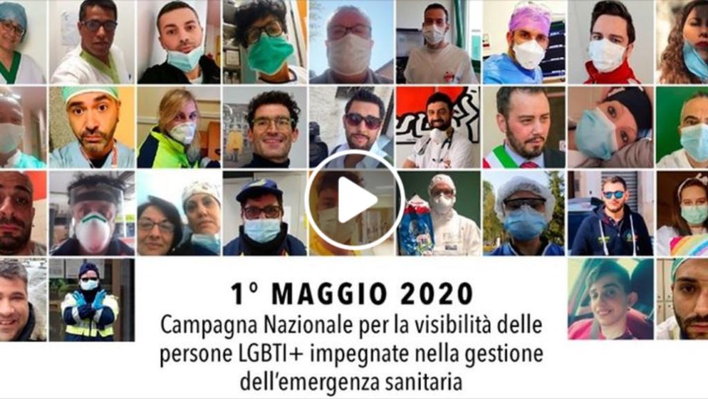 1 maggio, il tributo di Arcigay ai lavoratori LGBTI+ in prima linea nell'emergenza Covid-19
