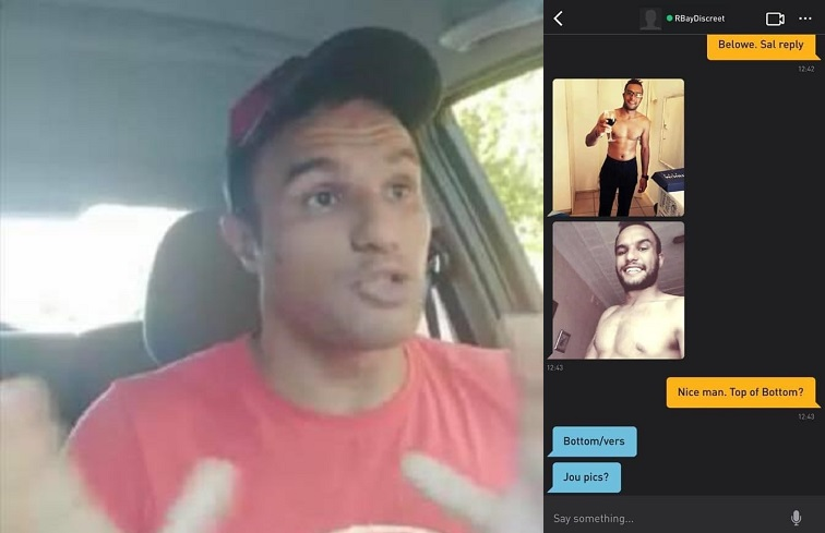 Estremista omofobobo beccato a cercare un top su Grindr, lui nega e sparisce dai social