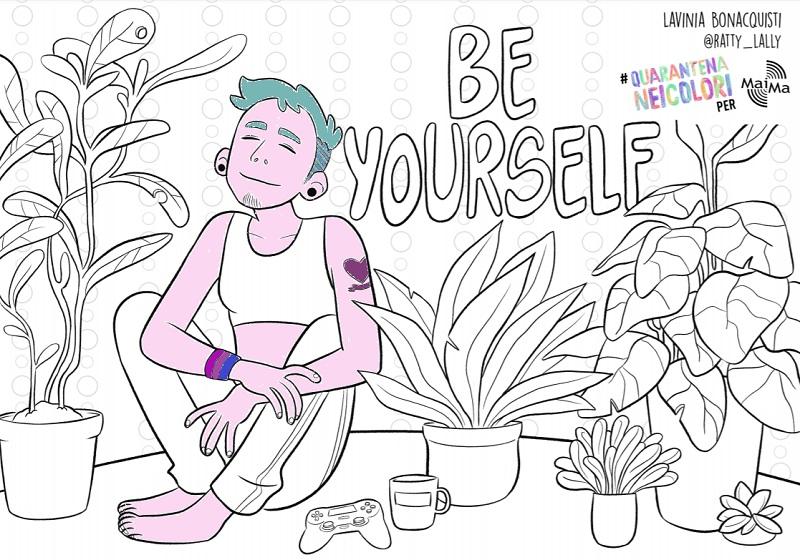 I disegni di 12 illustratori LGBT+ e ally a sostengono della protezione civile