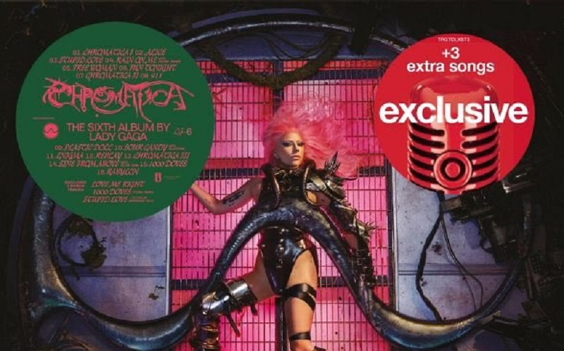 Lady Gaga duetta con Elton John e Ariana Grande nel nuovo album Chromatica