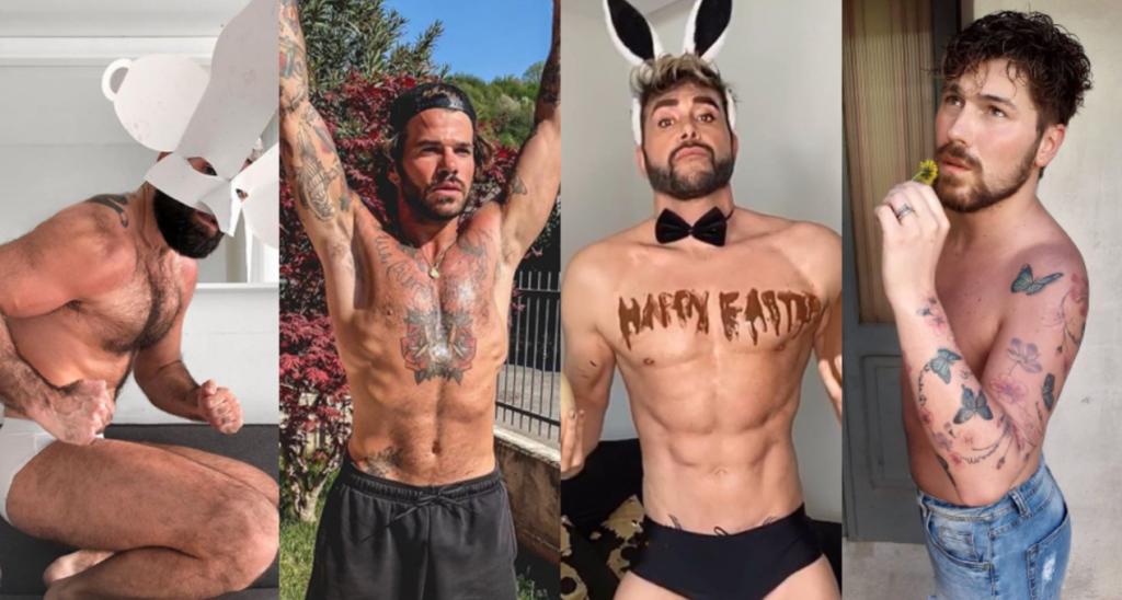 Queeride: l'uovo di Mario Venuti, Roberto Bolle con la barba, il mattarello di Roberto Bertolini