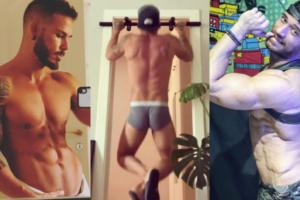 Queeride: Alessandro d'Amico si allena, Alex Di Giorgio in doccia, Angelo Recchia fluo