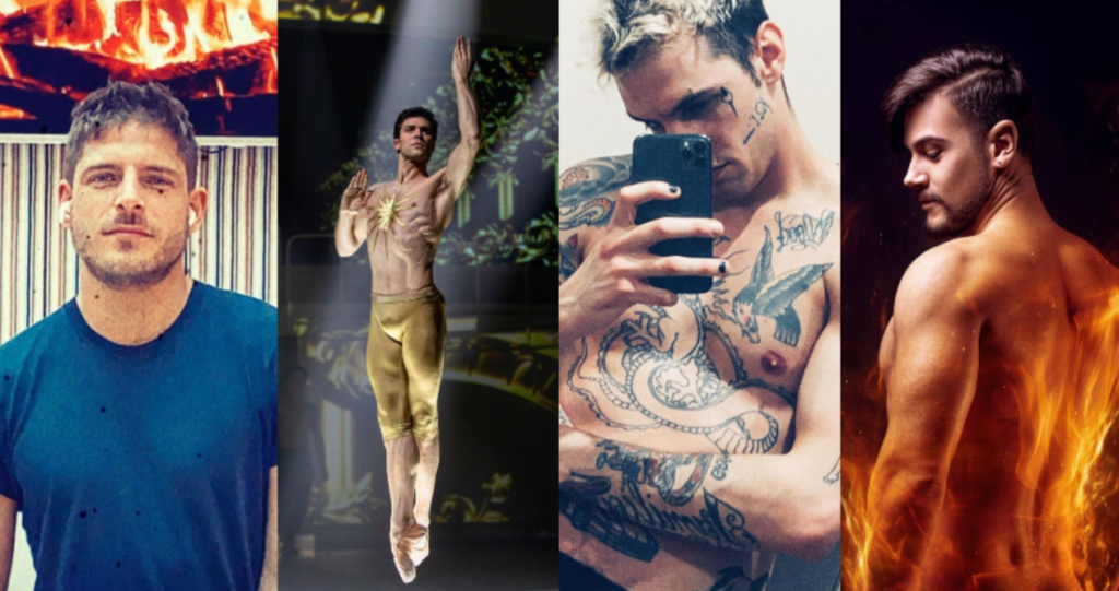 Queeride is on fire: Achille Lauro, Damiano David, Roberto Bolle, Cosma, Mahmood