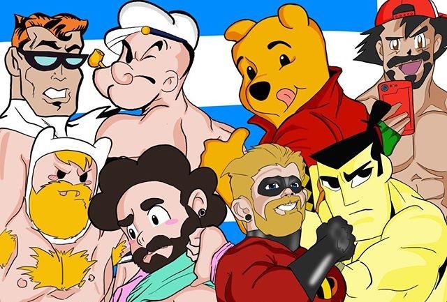 I cartoni animati come non li avete mai visti nelle illustrazioni di Anthony Cabrera