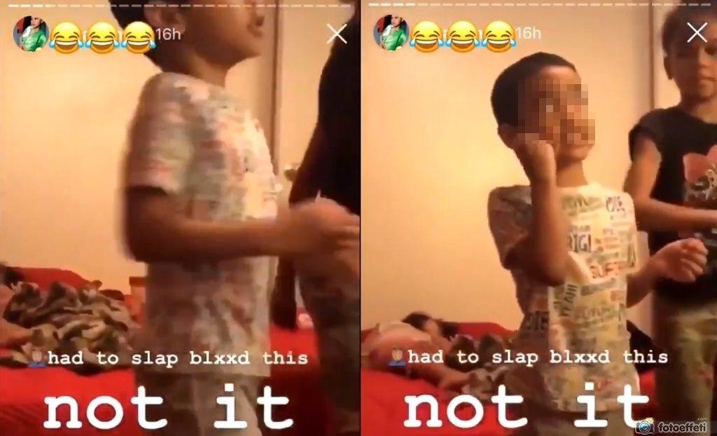 """Babysitter pubblica un video in cui picchia un bambino per un """"ballo gay"""""""