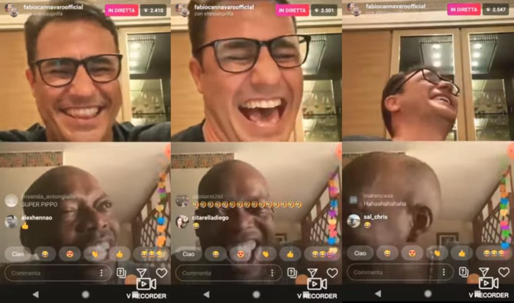 «Finocchio vestito da donna»: Fabio Cannavaro ride della transfobia di Faustino Asprilla